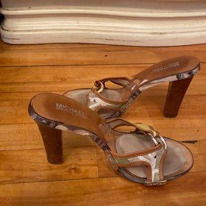 Michael Kors heel sandals size 8